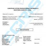 Sample of an Austrian criminal records certificate from the Register Division of Federal Police Bureau Vienna (Strafregisteramt der Bundespolizeidirektion).